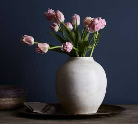 Quinn Ceramic Vase - Pottery Barn