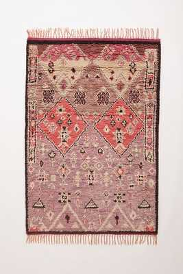 Hand-Knotted Double Diamond Rug - Anthropologie