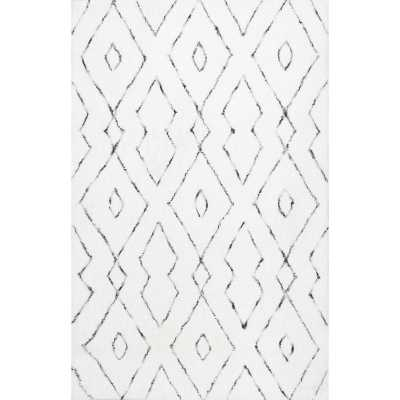 Mercury Row Peraza Hand-Tufted White Area Rug - Wayfair