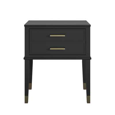 Westerleigh 1 Drawer Nightstand - Black - Wayfair