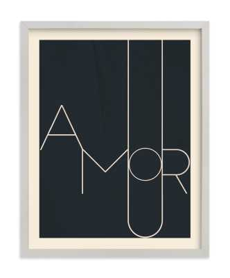 Amour Wall Art Print - Minted