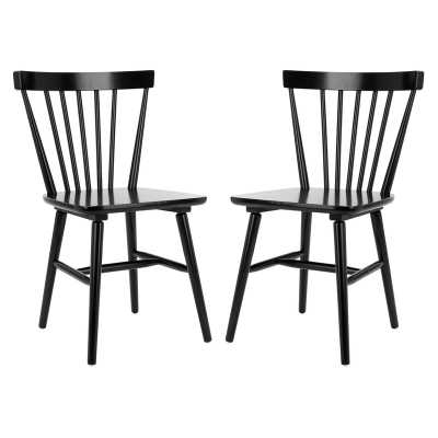 Siloam Solid Wood Windsor Back Side Chairs - set of 2 - Wayfair