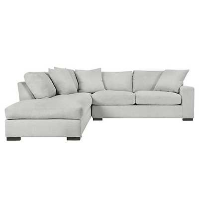 Del Mar Daybed Sectional - 2 PC - Left Arm Facing - Dublin Dove - Z Gallerie