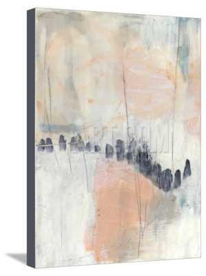 BLUSH & NAVY I - Canvas, 20''x17'' - art.com