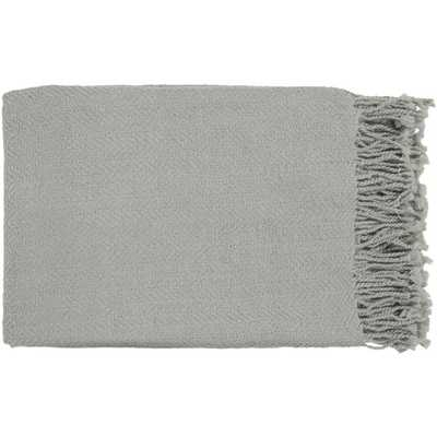 Neva Home Turner Medium Gray Throw Blanket - Neva Home