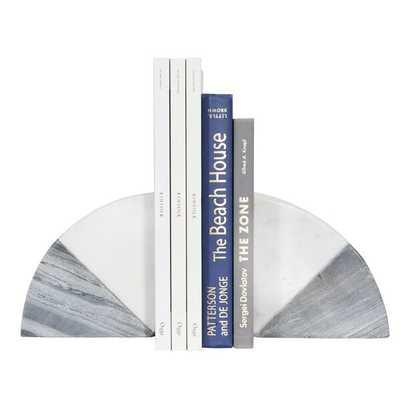 Marble Bookends - Wayfair