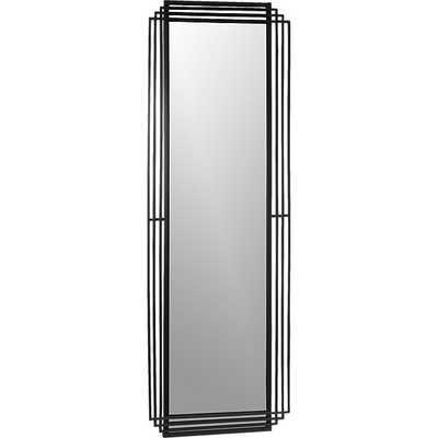 """Myrtle Rectangle Floor Mirror 24""""x72"""" - CB2"""