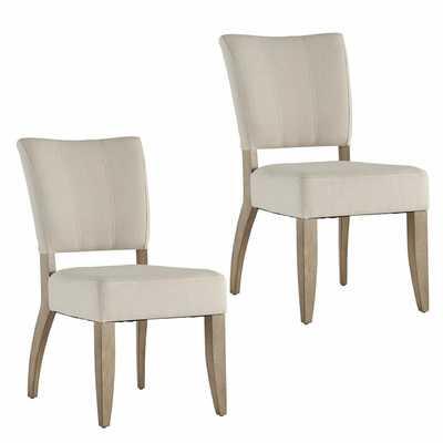 Willsey Upholstered Side Chair, Set of 2 - Wayfair