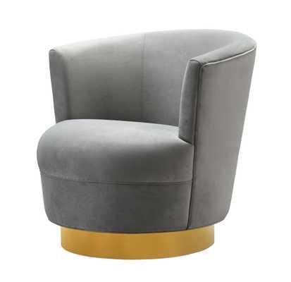 Raegan Morgan Swivel Chair - Maren Home