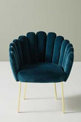 Feather Collection Dining Chair - Marine - Anthropologie