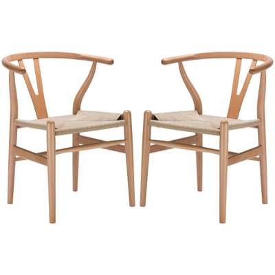 Poly and Bark Weave Chair (Set of 2) - Overstock