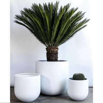 "Berntsen 1-Piece Stone Pot Planter 12"" - Wayfair"