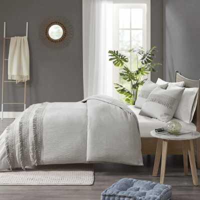 Umbria Cotton Seersucker Comforter Set - Wayfair