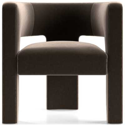 Sculpt Chair - Variety Stone - Crate and Barrel