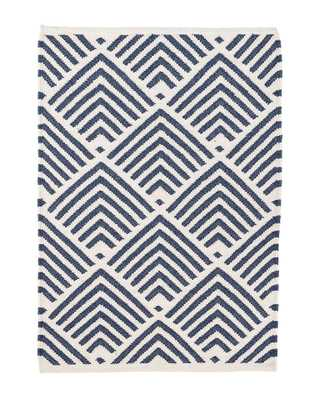 CLEO NAVY INDOOR / OUTDOOR RUG, 5' x 8' - McGee & Co.