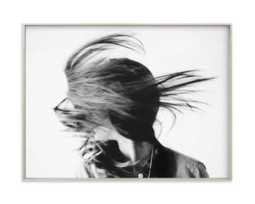 movement by katie bryant - 24x18 with champagne silver frame - Minted