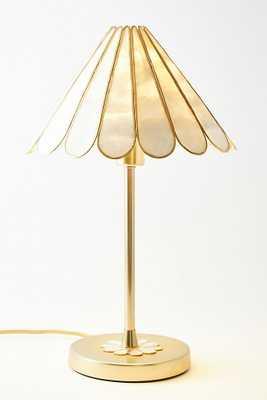 Daisy Capiz Table Lamp - Anthropologie