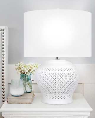 "Karen 23"" Table Lamp - Wayfair"