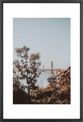 san francisco, california Framed Art Print - Society6