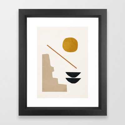 abstract minimal 6 Framed Art Print - Society6
