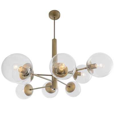 Cissell Mid Century 8-Light Sputnik Sphere Chandelier - AllModern