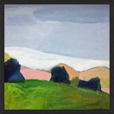 """Modern Landscape  BY PAMELA MUNGER (6.5x6.5""""  Framed) - Wander Print Co."""