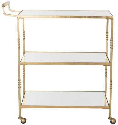 Arabelle Bar Cart - Wayfair