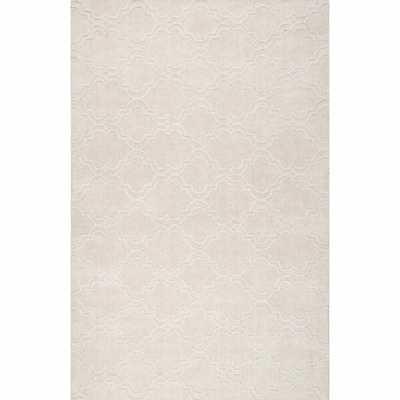 Alonza Hand-Tufted Wool Ivory Area Rug - Wayfair