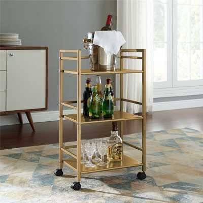 Helix Bar Cart - Wayfair