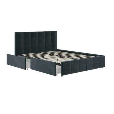 Houchins Upholstered Storage Platform Bed - Wayfair