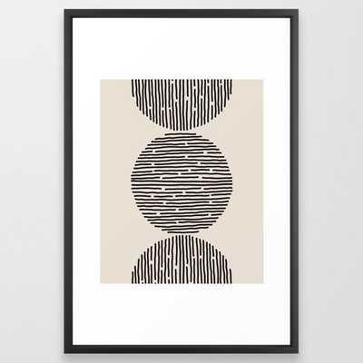 river stones Framed Art Print - Society6