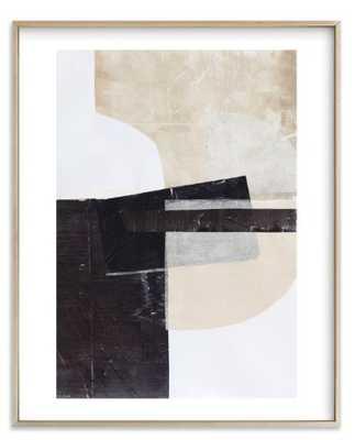 "Last Tuesday / 16"" x 20"" / matte brass frame - white border - Minted"