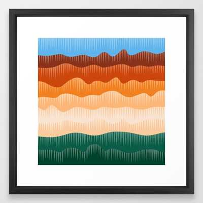 Colorado River - Vector Black - Society6