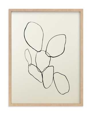 """""""Cactus Line Drawing"""" - Limited Edition Art Print by Amanda Phelps in beautiful frame options and a variety of sizes. get styling advice Cactus Line Drawing - Minted"""