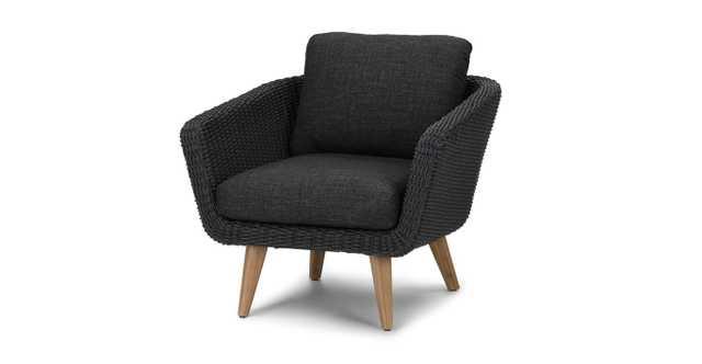 Ora Slate Gray Lounge Chair - Article