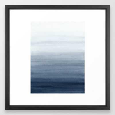 Ocean Watercolor Painting No.2 Framed Art Print by Kris Kivu - Society6