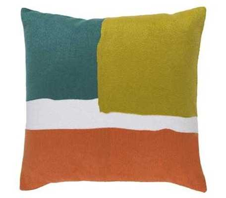 Jayden (Green) Pillow - Joybird