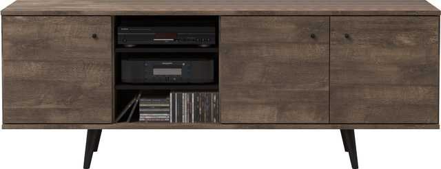 """Norloti TV Stand for TVs up to 78"""" Distressed Brown - AllModern"""