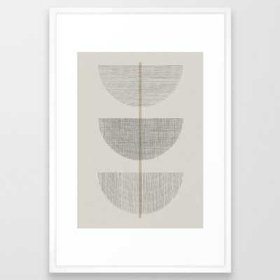 Geometric Composition III Framed Art Print - Society6