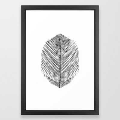 Feather - Vector black - Society6