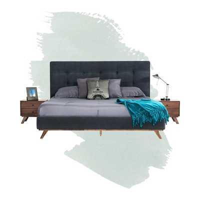 Rocco Upholstered Platform Bed - Wayfair