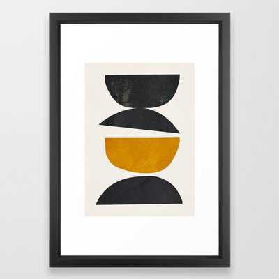 abstract minimal 23 Framed Art Print - Society6
