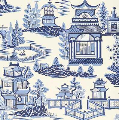 "Exuberant Prints Nanjing 13.5' L x 27"" W Wallpaper Roll - Wayfair"