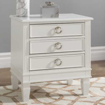 Jose 3 Drawer Nightstand - Wayfair