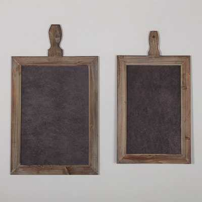 RUSTIC KITCHEN CHALKBOARDS - SET OF 2 - Shades of Light