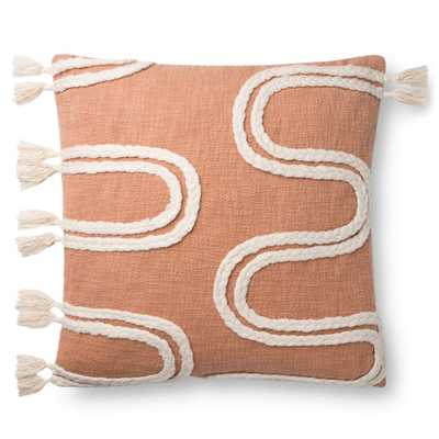 Kasos Pillow Cover - Salmon - Roam Common