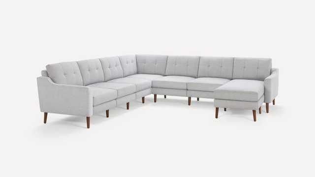 Slope Nomad 7-Seat Corner Sectional + Movable chaise - Burrow