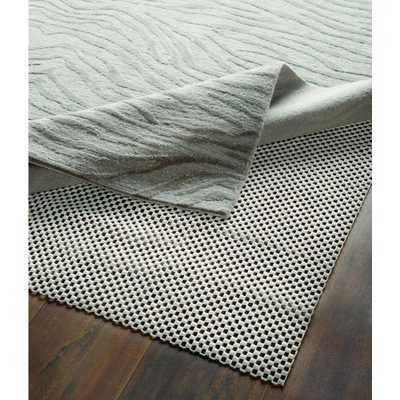 8 ft. x 10 ft. Rubberized Non-Slip Area Rug Pad Gripper in White - Home Depot