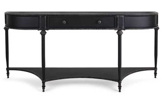 Bengta Metal Console Table (back in stock 1/9/21) - Wayfair