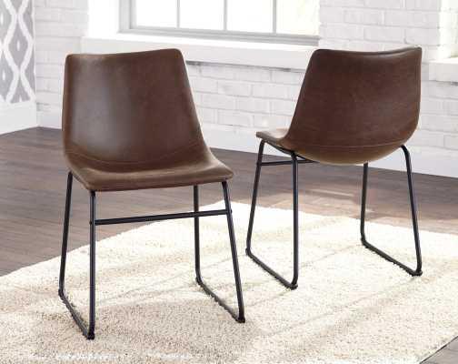 Lanford Upholstered Dining Chair (Set of 2) - Wayfair